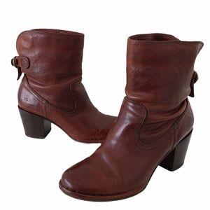 Frye Lucinda Short boot whiskey brown size 7.5